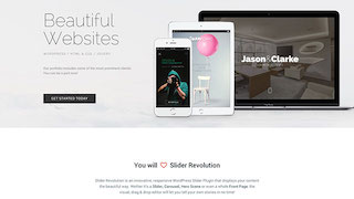 Uniweb Revolution Slider
